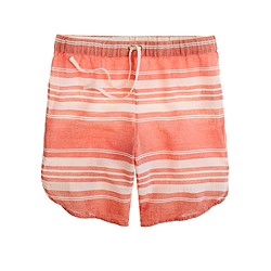 Tulum-stripe short