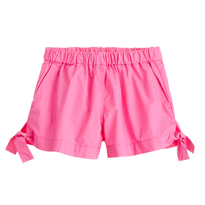 Girls' little bows short