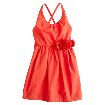 Girls' garland dress