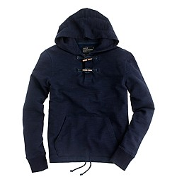 Fleece toggle hoodie