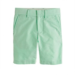 Boys' club short in oxford cloth