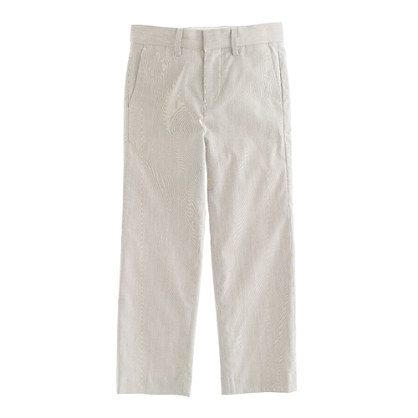 Boys' Ludlow suit pant in fine stripe