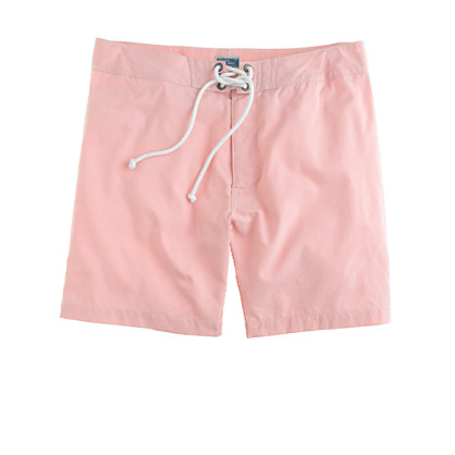 "7"" board shorts in oxford cloth"