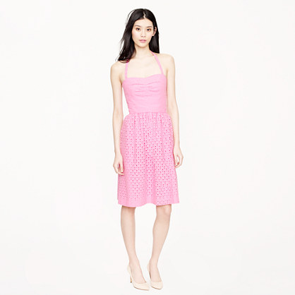 Loretta dress in eyelet