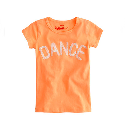 Girls' dance tee