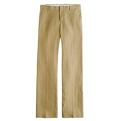 Collection women's Ludlow trouser in Irish linen