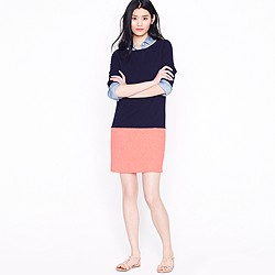 Colorblock maritime dress