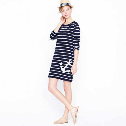 Maritime anchor dress