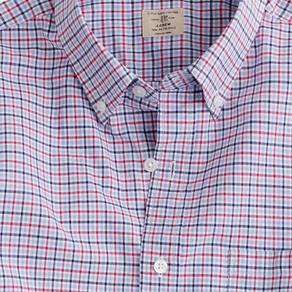 Secret Wash shirt in Strickland check