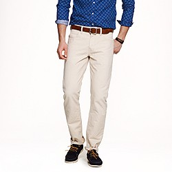 Wallace & Barnes slim canvas jean