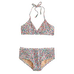Girls' Liberty string halter bikini set in Phoebe floral