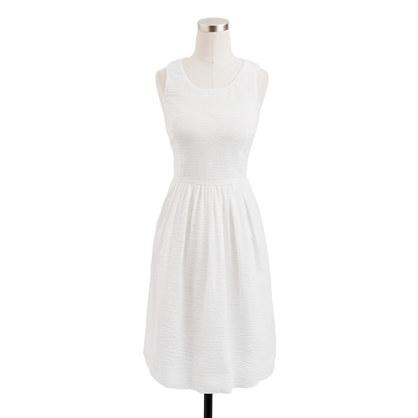 Puckered dress