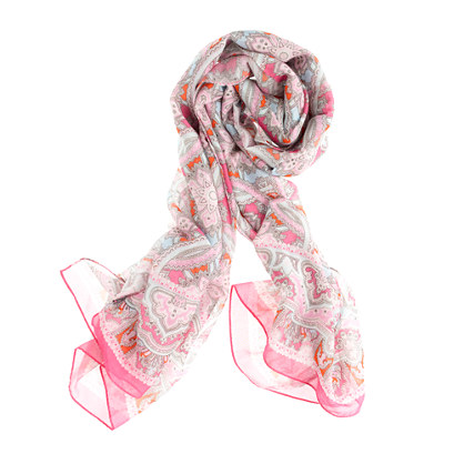 Drake's London® paisley scarf