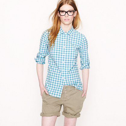 Perfect shirt in medium gingham