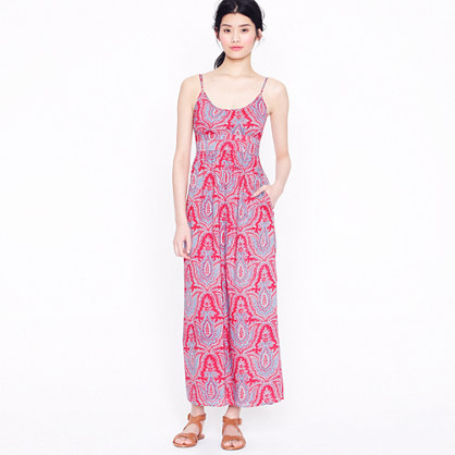 Midsummer maxidress in Raj paisley