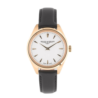 Mougin & Piquard™ for J.Crew Minuit watch in black