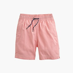 Boys' solid oxford trunks