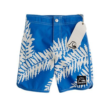 Boys' Quiksilver® for J.Crew trunks in original aloha print