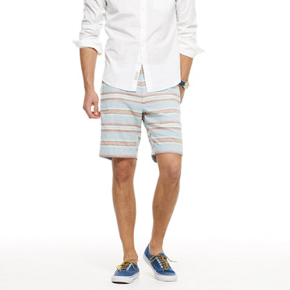 Stanton short in yarn-dyed stripe