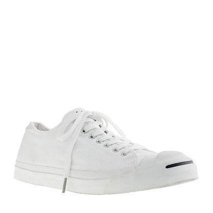 Converse® distressed Jack Purcell® sneakers