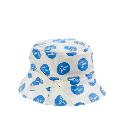 Girls' bucket hat in fishin' around