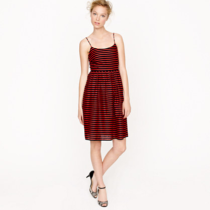 Stripe derby dress