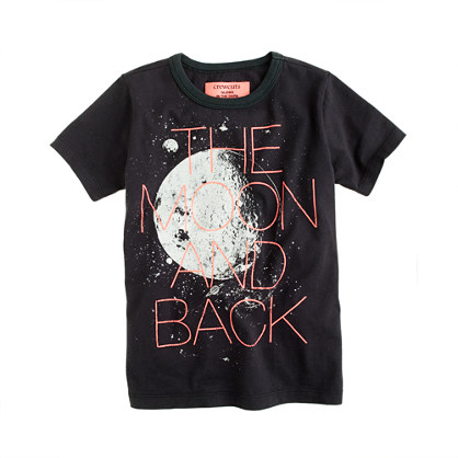 Boys' glow-in-the-dark moon tee