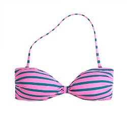 Double-stripe bandeau top