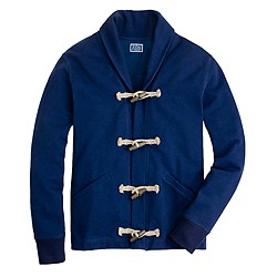 Fleece toggle cardigan