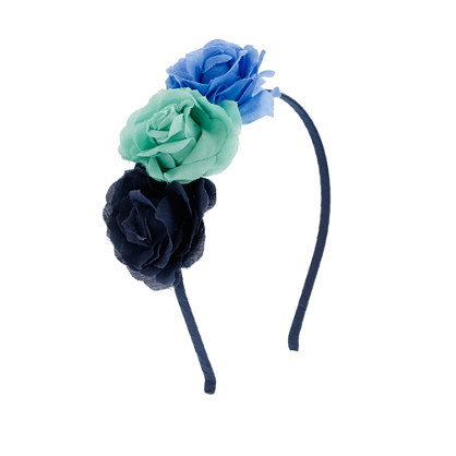 Girls' three flowers headband