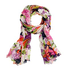 printed Summer scarf