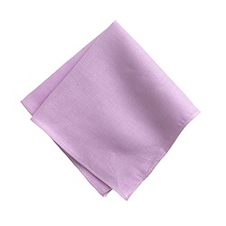 Irish linen pocket square