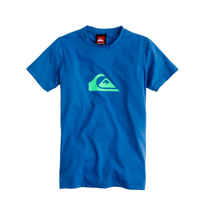 Boys' short-sleeve Quiksilver® rash-guard tee