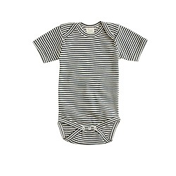 Nature Baby® for J.Crew short-sleeve one-piece in stripe