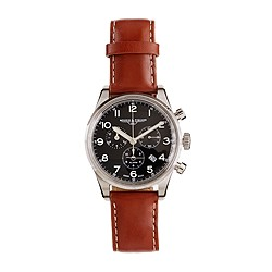 Mougin & Piquard™ for J.Crew chronograph watch in black
