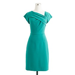 Origami sheath dress