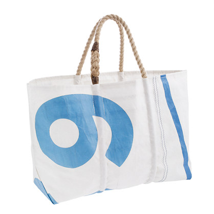 Sea Bags® for J.Crew Indigo Collection tote
