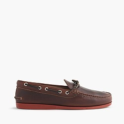 Quoddy® for J.Crew leather canoe shoes