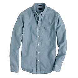 Slim Japanese chambray shirt