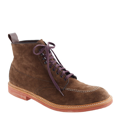 Limited-edition Alden® for J.Crew Indy boots in suede