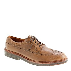 Limited-edition Alden® longwing bluchers in natural Chromexcel leather