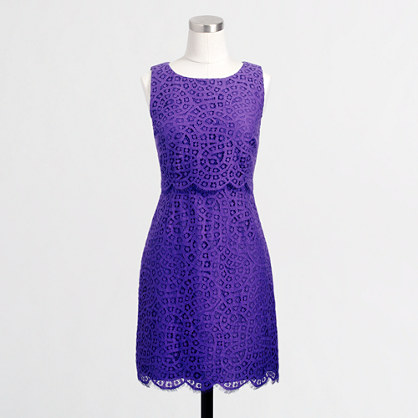 Factory lace shift dress