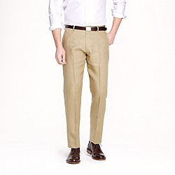 Ludlow classic suit pant in Irish linen