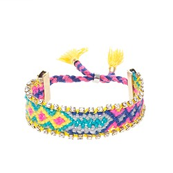 Girls' sparkle friendship bracelet