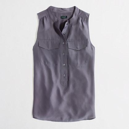Factory sleeveless popover