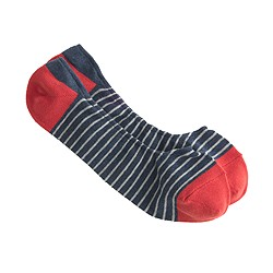 Stripe no-show socks