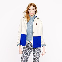 Colorblock sail jacket