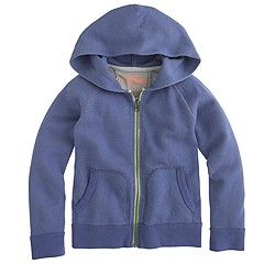 Boys' french terry zip hoodie