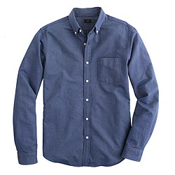 Tall vintage oxford shirt in tonal cotton