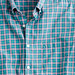 Secret Wash shirt in pink and green check